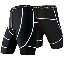 Mens Compression Shorts Base Layer Skins Tights Sports Yoga Under Wear Shorts