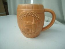 Chope en céramique publicitaire de la bière belge des Trappistes de Rochefort