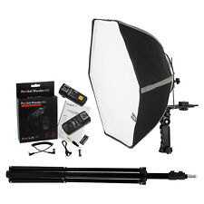 Fotodiox 20in Speedlite Softbox Kit for Nikon (1N) with Light Stand and Triggers