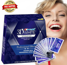 Teeth Whitening Strips Effects 3d White Luxe Oral Hygiene Teeth Whitestrips Kit