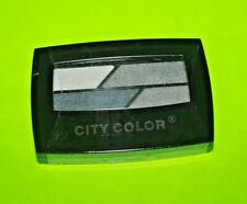 City Color Quad Eye Shadow Palette Grey Sealed /New + Free 2 Liners