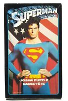 "Complete Vintage 1978 Superman The Movie Jigsaw Puzzle - 200 Pieces - 11"" x 17"""