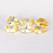 TOP CITRINE LOT : 8,56 Ct Natürlicher Gold Gelb Bahia Citrin aus Brasilien