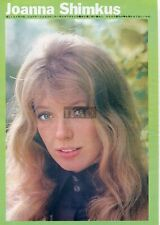 JOANNA SHIMKUS 1973 Vintage Japan Picture Clipping 8x11 md/v