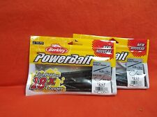 BERKLEY POWERBAIT BOTTOM HOPPER(6.25IN) JUNEBUG (12CT)(2PK'S)#1457595