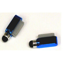 Dust Cover Dock Charge Port Stylus For iPad 2 3 iPhone 4 4G 4S 3G 3Gs Dark Blue