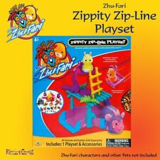 Zhu-Fari Zippity Zip-Line Safari Zoo Playset - New and Boxed