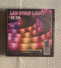 LED Strip Lights 39.3FT/11.97M 5050 RGB Light Strips Color Changing Rope
