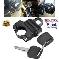 Motorcycle Helmet Lock Anti-theft Security Universal For Harley 7/8'' 22mm AF1