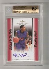 BRADLEY BEAL 12/13 leaf signature on card auto rookie red serial #2/5 BGS 9.5