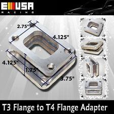 T4 to T3 flange adapter for TURBO HX35W HX40W GT45 T4 T3T4 GT35 T70