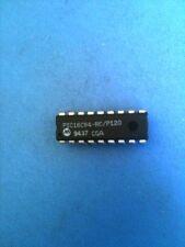 PIC16C54-RC/P120 MICROCHIP 8-bit MCU .75KB 25 RAM 12 I/O RC 18 PIN DIP