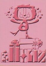 "Cuttlebug Carpeta de Grabación en Relieve Cumpleaños Bash-Lion 5""x7"" reducido"