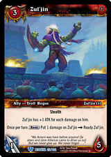WOW WARCRAFT TCG BETRAYAL OF THE GUARDIAN : ZUL'JIN X 4