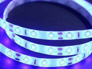 Blue LED Waterproof Lighting Kit Outdoor Light Strip Bright Boat RV Store 5630