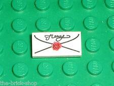 Lettre LEGO Tile 1 x 2 with Letter Pattern 3069bp0c / Set 4728 4729 4842 4709...