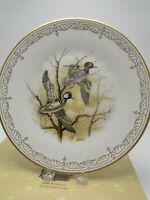 "Boehm Ltd Ed Plate ""Hooded Mergansers"" Water Bird Collection Bone China w box"