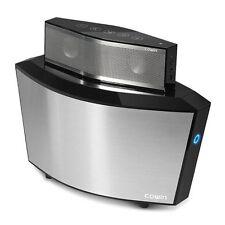 COWIN ARK BLACK- 2 in 1 Portable Bluetooth Speaker Built-in Wireless Charging!!!