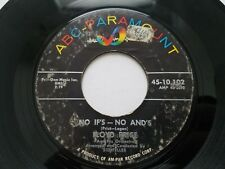"LLOYD PRICE - No If's - No And's / For Love 1960 R&B SOUL 7"" ABC Paramount"