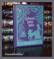 Grimm's Fairy Tales Illustrated New Sealed Leather Bound Collectible Deluxe 1st