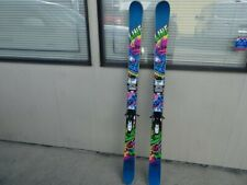 Line Ski and Destroy Snow Alpine Skis 155cm w/ Marker bindings   Wicked Rad