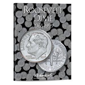 HARRIS COIN FOLDER/ALBUM ROOSEVELT DIME 1965-1999 ~ NEW CLOSE OUT ~ #2685 No 2