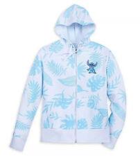 Disney Parks Stitch Hoodie Jacket Aloha New Xs