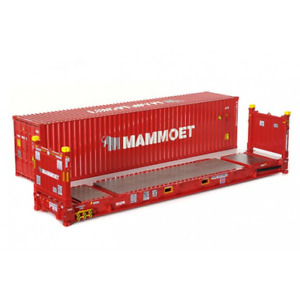 "TONKIN/TEKNO MAMMOET 410083 CONTAINER SET II 40' Superrack/Container 1:50 ""NEW"""
