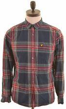 SCOTCH & SODA Mens Shirt Medium Multicoloured Check Cotton Slim Fit  AW06