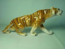Royal Dux Tiger Figur 7 Fotos 312/1 62 - 14.5 Zoll Nose zu Tail
