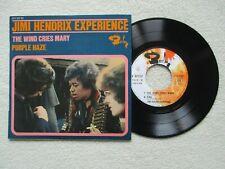 "45T 7"" JIMI HENDRIX EXPERIENCE ""The wind cries Mary"" BARCLAY 071157 FRANCE 1967/"
