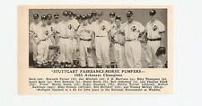 Casa Grande Cotton Kings Az Stuttgart Fairbanks-Morse Pumpers Ak 1953 Baseball