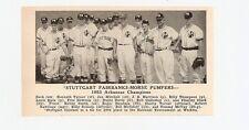 Casa Grande Cotton Kings AZ Stuttgart Fairbanks-Morse Pumpers AK 1953 Baseball