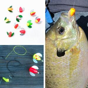 Yousya 10~50Pcs Spin and Glo Body for Trout Kokanee Pan Fish Random Color