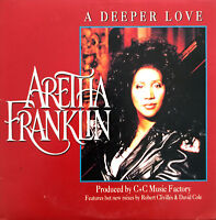 Aretha Franklin CD Single A Deeper Love - France (EX/EX+)