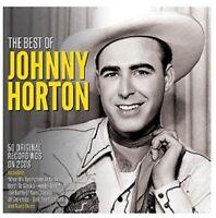 JOHNNY HORTON - BEST OF  2 CD NEW!