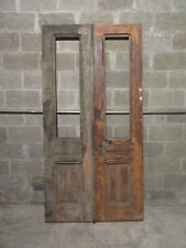 ~ Antique Double Entrance French Doors ~ 42 x 83 ~ Architectural Salvage