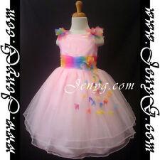 Robes roses habillés pour fille de 2 à 3 ans