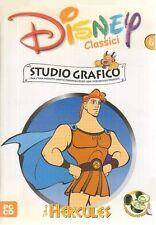 Disney classici N. 6 Hercules Studio Grafico Videogioco PC Gioco ITA con manuale