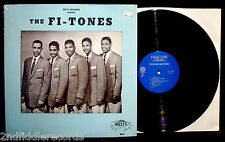 THE FI-TONES-Near Mint Doo Wop Northern Soul Album Still In Shrink-ANGLE TONE