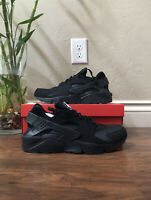 NIKE AIR HUARACHE TRIPLE BLACK SIZE 13 NEW W/BOX FAST SHIPPING (318429-003)