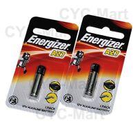 2 pcs x Energizer A27 27A Alkaline Car Remote / Door Bell Batteries FREE POST