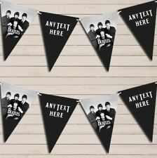 The Beatles Birthday Bunting Garland Party Banner