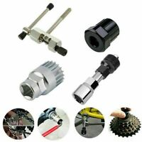 4Pc Mountain Bike MTB Bicycle Crank Chain Axis Extractor Removal Repair Tool US