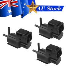 3x EGR Vacuum Switch Solenoid Valve K5T49090 for Mazda 929 MPV MX-6 RX-8 Black