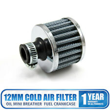 12mm Cold Air Filter Intake Crankcase Sliver Mini Oil Breather  Air Compressor