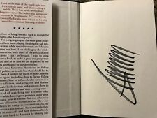 President Donald Trump Signed Book Autograph Crippled America First Edition