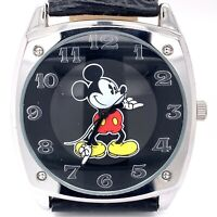 Disney Parks Mickey Mouse Japan Movement Stainless Steel 40MM Watch! 226
