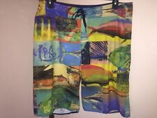 Men's Salt Life SLX-QD Vapor Stretch Boardshorts Sz 36 Awesome Design!