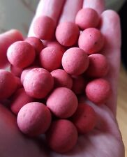 Spicy GRANCHIO POP UP BOILIES CARP FISHING BAIT 14mm esca, Capelli Rig (colore rosso)